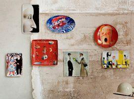 Lá em Casa: os incríveis e modernos pratos de porcelana decorativos da Vista Alegre