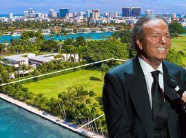 Julio Iglesias coloca terreno baldio em point cobiçado de Miami à venda por mais de R$ 173 milhões