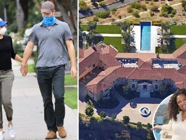 Enquanto não encontram o lar perfeito, Meghan Markle e Harry vivem em mansão de bff de Oprah Winfrey