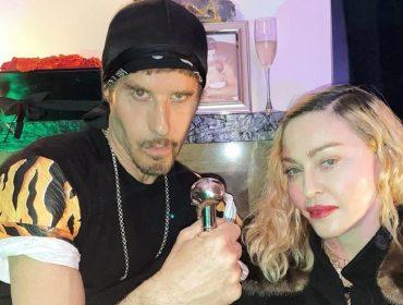 Depois de testar positivo para anticorpos do novo coronavírus, Madonna vai à festa de aniversário