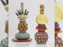 Lá Em Casa: as cerâmicas cheias de personalidade de Paula Juchem para uma quarentena colorida