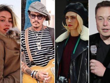 Johnny Depp acusa Amber Heard de tê-lo traído com Cara Delevingne e Elon Musk ao mesmo tempo