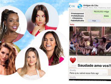 Ex-BBB Gabi Martins revela nome de grupo de WhatsApp que tem com as amigas do reality show…