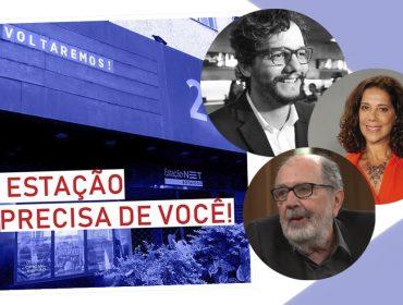 Artistas e cineastas se unem na tentativa de salvar o emblemático Cinema Estação, no Rio