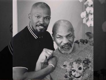 """Mike Tyson manda recado para Jamie Foxx, que o interpretará na telona: """"Não vai ser bonito"""""""
