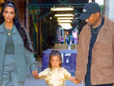 Primogênita de Kim e Kanye, North West terá fortuna de quase R$ 70 mi no banco quando completar 21 anos