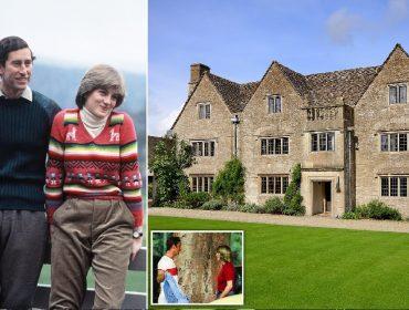 Casa 'mal-assombrada' em que Charles conheceu Diana é colocada à venda por R$ 20,1 milhões