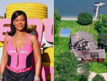 Rihanna vai curtir um mês de férias nos Hamptons em château que alugou por R$ 2,15 milhões