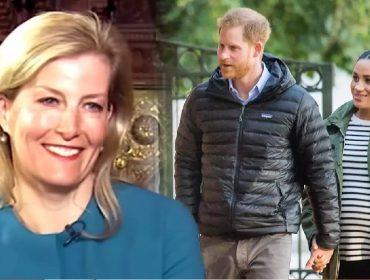 Nora de Elizabeth II se pronuncia sobre o #Megxit e diz torcer para que Meghan e Harry 'estejam felizes'