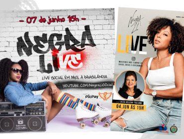 Negra Li faz live com Luiza Helena Trajano e canta em prol da Vila Brasilândia. Saiba detalhes!