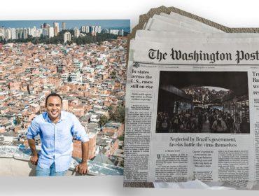 G10 Favelas é destaque no 'The Washington Post' em especial que mostra a situação das comunidades carentes em meio à pandemia da Covid-19