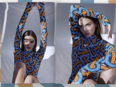 Kendall Jenner faz autorretratos para nova campanha da Burberry… e vira um avatar. Confira!
