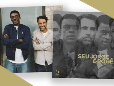 Seu Jorge e Rogê comemoram os 30 anos de amizade em disco. Play para ouvir 'Pra você amigo'!