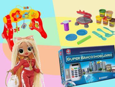 É para as crianças, mas os glamurettes vão adorar a nossa seleção de brinquedos. Vem e se divirta!