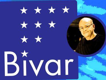 Guto Lacaz cria selo em homenagem ao amigo Antonio Bivar, que morreu nesse domingo