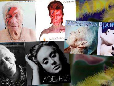 Idosos de uma casa de repouso viram capas de CDs icônicos na Inglaterra. Vem comemorar o Dia dos Avós