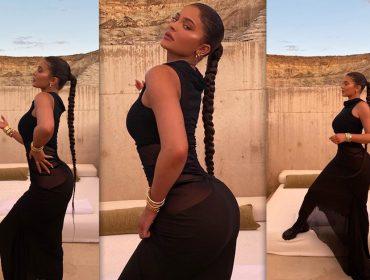 Kylie Jenner curte dias de 'dolce far niente' em resort de luxo no meio do deserto. A diária? R$ 19 mil