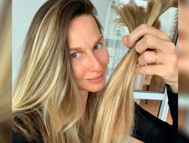 """Mariana Weickert celebra nova fase com mudança no visual:  """"Tava louca pra cortar e doar meu cabelo"""""""