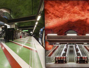 Estações de metrô de Estocolmo são a parada certa para quem visita a cidade. Quer saber por quê?