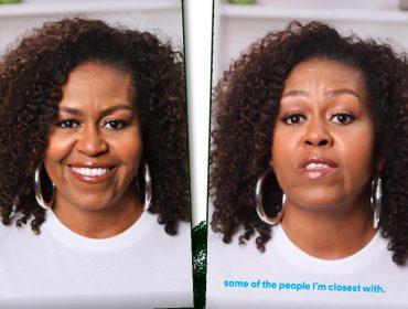 """Michelle Obama estreia podcast com bom papo e assuntos importantes na pauta: """"Vamos discutir as relações que nos fazem ser quem somos"""""""