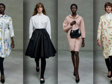 """Miuccia Prada apresenta sua última coleção sozinha em desfile digital batizado """"O show que nunca aconteceu"""""""