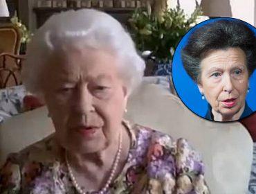 Vem ver a princesa Anne ensinando a mãe, rainha Elizabeth, a fazer videoconferência em cena tirada de documentário