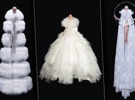 Diretamente dos lendários estúdios Cinecittà, Valentino apresenta sua alta-costura em desfile digital lúdico
