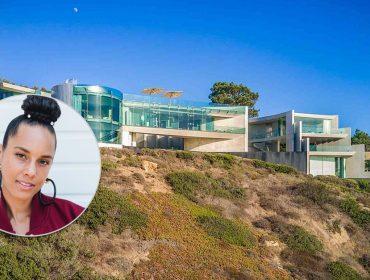 Alicia Keys compra casa de 160 milhões de reais em penhasco da Califórnia. Vem conhecer de perto!