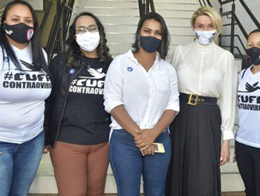 Bia Doria recebe lideranças da Cufa para falar sobre atuação do Fundo Social de São Paulo durante e pós-pandemia nas comunidades