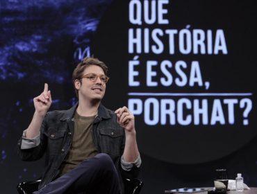 Fábio Porchat volta com 2ª temporada de 'Que História é Essa?' em versão virtual e revela: 'Meu primeiro crush famoso foi Deborah Secco'