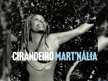 Mart'nália ousa e aparece seminua em capa de seu novo single 'Cirandeiro'