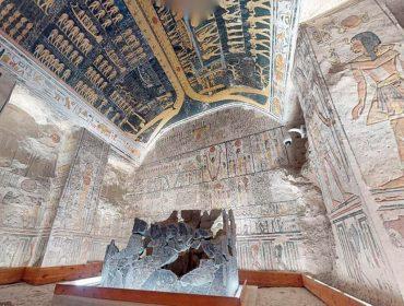 Que tal fazer um tour pelo túmulo do faraó Ramsés VI, no Egito, sem sair de casa? Saiba como