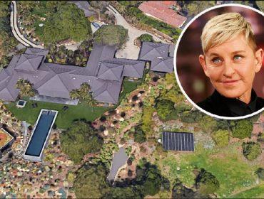 Ladrões invadem mansão de US$ 75 mi de Ellen DeGeneres e levam relógios e joias caras