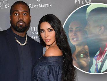 Kim Kardashian e Kanye West já não dividem o mesmo teto há um ano, diz tabloide britânico