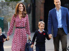 Apesar das férias escolares no Reino Unido, Kate Middleton e William mantiveram os herdeiros em homeshcooling