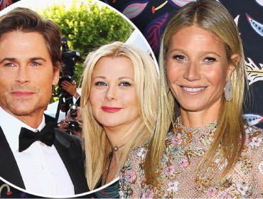 Gwyneth Paltrow revela que mulher de Rob Lowe a ensinou a fazer sexo oral. Oi?