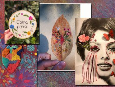 Querida da vovó, a arte de bordar voltou com tudo e Glamurama mostra quem dá show com agulha e linha na mão