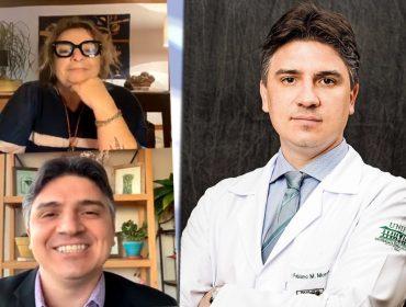 Neurologista Fabiano Moulin fala sobre emoções, gratidão, pandemia e muito mais em live com Joyce Pascowitch