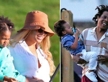 Beyoncé e Jay Z curtem férias em família nos Hamptons a bordo de mega-iate do dono do Twitter