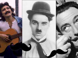 No Dia do Bigode, Glamurama relembra quem são os 'bigodudos' mais famosos do mundo