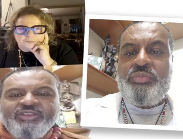 Sidnei Nogueira, doutor em semiótica da USP, fala sobre intolerância religiosa em live com Joyce Pascowitch. Play!