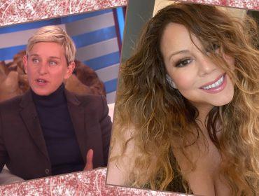 """Mariah Carey lembra de quando Ellen DeGeneres a pressionou a revelar gravidez: """"Um dos momentos mais desconfortáveis"""""""
