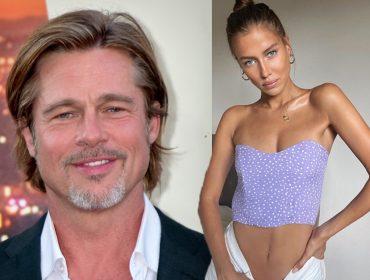 Confirmado: Brad Pitt e a modelo alemã Nicole Poturalski estão em um relacionamento sério