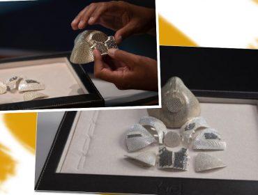 Máscara de proteção contra Covid-19 mais cara do mundo foi comprada por R$ 8 milhões. Confira os detalhes!