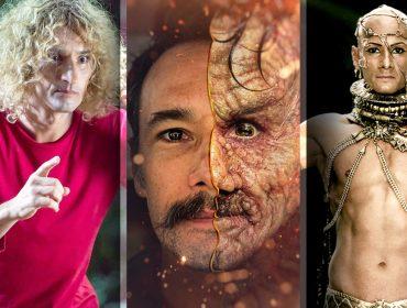 Rodrigo Santoro faz 45 anos com uma lista de personagens dos mais variados. Confira as maiores mudanças do ator em nome da arte!