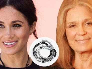 Meghan Markle ganhou bracelete empoderador da lendária feminista Gloria Steinem
