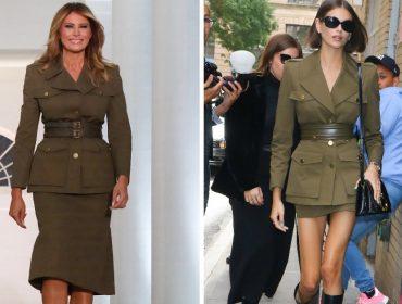 Melania Trump usa jaqueta militar de R$ 8,3 mil em convenção do Partido Republicano dos EUA