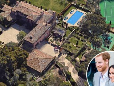 Mansão comprada por Meghan e Harry tem 9 quartos, 16 banheiros e custou R$ 79 milhões