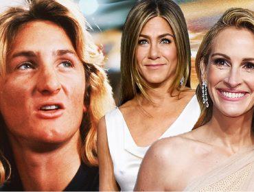 Sean Penn, Jen Aniston e Julia Roberts vão se encontrar em live para ajudar ONG que luta por reformas na justiça dos EUA
