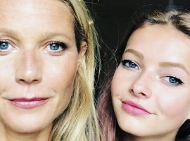"""Apple Martin, filha de Gwyneth Paltrow, entrevista mãe a avó sobre beleza madura e conclui: """"Com a idade vem a sabedoria"""""""